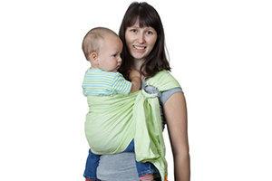 10 лучших слингов для новорожденных детей: май, шарф, рюкзак, с кольцами. Трикотажные модели от Chicco, Чудо-Чадо и др.