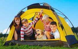 10 лучших кемпинговых, трекинговых палаток для туризма, отдыха и рыбалки. Недорогие семейные туристические модели кубы, с тамбуром от Митек, Maverick и др.